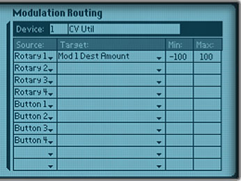 Controlling Amount from Combi rotary